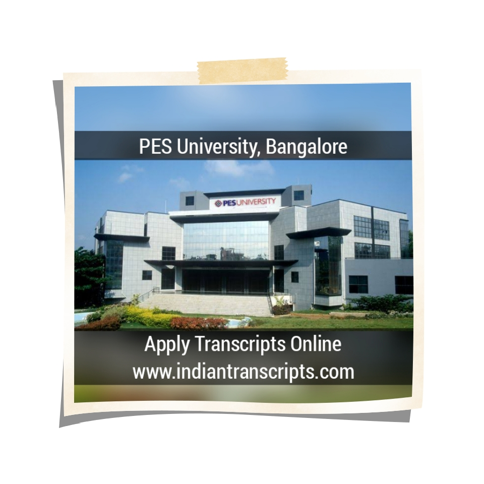 Indian University/College - Apply your Education Transcripts